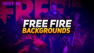 50+ Free Fire Backgrounds Pack