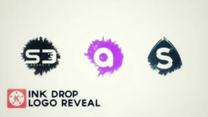 Ink Drop Logo Reveal Kinemaster Intro Template – Free Download