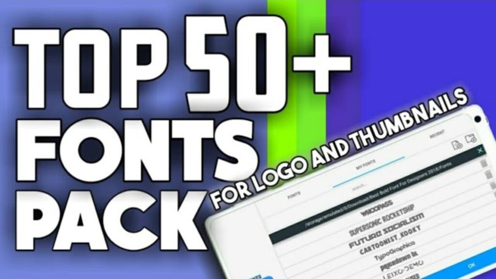 Best 50+ Fonts Pack - Free Download