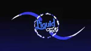 Liquid Text Animation Kinemaster Intro Template – Free Download